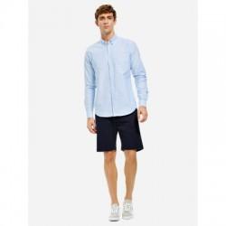 ZAN.STYLE Men Cotton Shirt