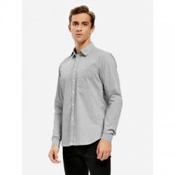ZAN.STYLE Men Cotton Dress Shirt