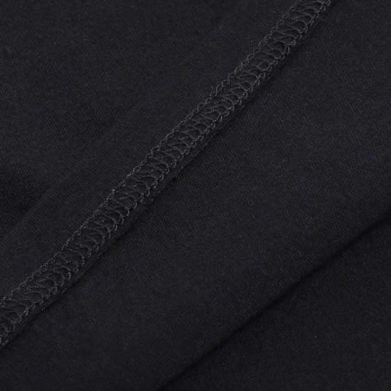 Round Neck Short Sleeves Cotton T-Shirt