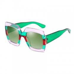 Fashion Sunglasses Women G Brand Designer Color Frame Square Sun Glasses Men Travel UV Big Sunglasse