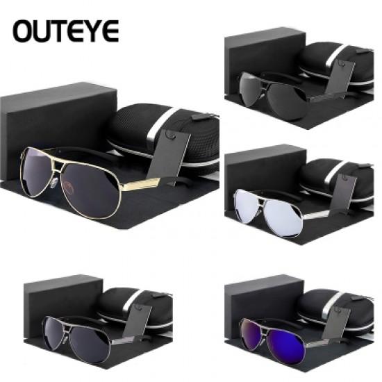 COOL Unisex Mens Womens Metal Frame Classic Sunglasses Vintage Retro Mirrored