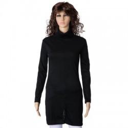 Long Sleeve Turtleneck Pullover Dress