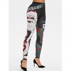 Christmas Printed Leggings