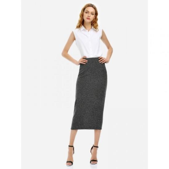ZAN.STYLE Women Pencil Skirt